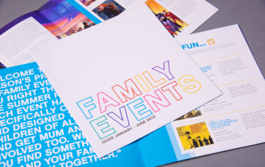 Family Brochure Design